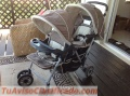 Baby stroller double