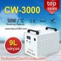 Pequeño enfriador de agua CW3000 para husillo de máquina de grabado CNC