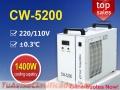 Enfriador de agua de recirculación CW5200 para máquina de corte por láser co2 de 130 vatio