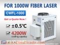 Enfriador de enfriamiento por láser para 1000W Fiber Laser