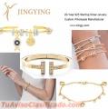 Joyería de plata esterlina, anillo, colgante, brazalete, pendientes, fabricante de diseño